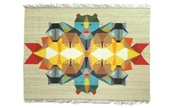 Calendrier de l'Avent - Jour 16 : un kilim original et péchu