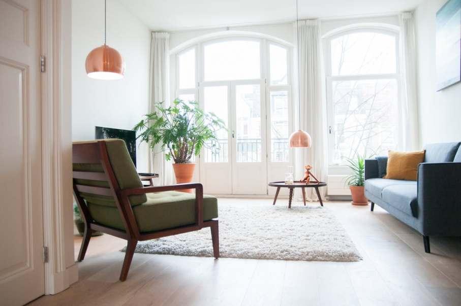 un appartement vitaminé à Amsterdam